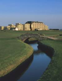 Golf course at St Andrews
