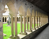 Cloisters at Iona Abbey